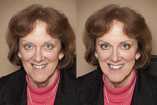 Portrait Retouching Sample