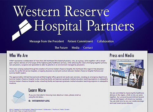 Western Reserve Hospital Partners