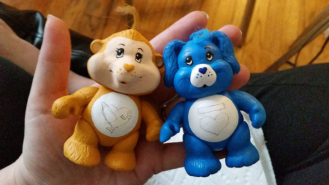 Make Lost Care Bear Cousins Pvc Poseable From 1980