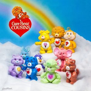 Care Bear Cousins PVC Poseables 1980