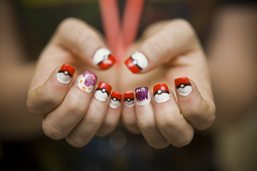 Make pokemon manicure nail art carissa russell leave a comment prinsesfo Choice Image