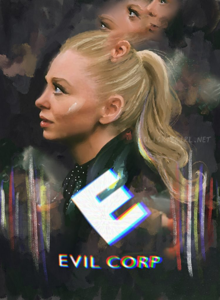 Portia Doubleday as Angela in Mr. Robot